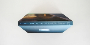 Hurricane Story Book Spine